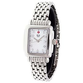 Michele Deco Mini MWW06X000031 23mm Womens Watch