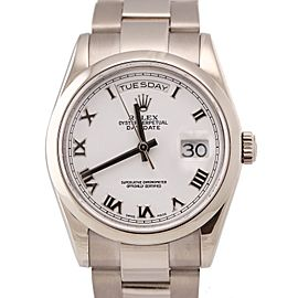 Rolex Day-Date President 118209 36mm Unisex Watch
