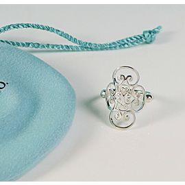 Tiffany & Co. Silver Picasso Goldoni Quadruplo Ring NEW