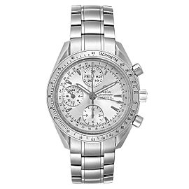 Omega Speedmaster Day Date Chronograph Silver Dial Mens Watch 3523.30.00