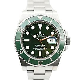 Rolex Submariner Hulk Stainless Steel w/ Green Ceramic Bezel 116610LV