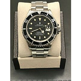 Rolex Submariner 16800 Black Dial Stainless Steel Original Polish