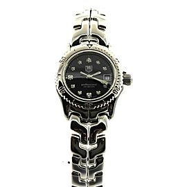 TAG HEUER LINK PROFESSIONAL WT317.BA0556 BLACK DIAMOND SWISS QUARTZ LADIES WATCH