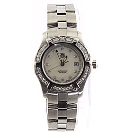 TAG HEUER EXCLUSIVE WN131J.BA0360 DIAMOND PEARL LADIES SWISS WATCH