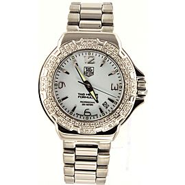 ORIGINAL TAG HEUER FORMULA 1 WAC1215.BA0852 DIAMOND LADIES SWISS QUARTZ WATCH