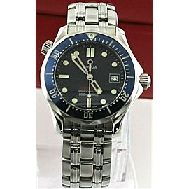 OMEGA SEAMASTER 2223.80 PROFESSIONAL MIDSIZE BLUE SWISS QUARTZ BOND WATCH