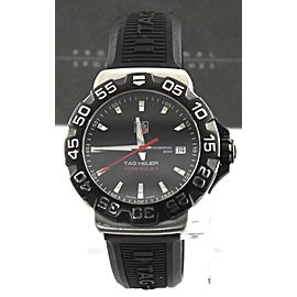 TAG HEUER FORMULA 1 WAH1110.BT0714 BLACK RUBBER QUARTZ WATCH