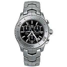 TAG HEUER LINK CJ1110.BA0576 CHRONOGRAPH SWISS QUARTZ BLACK WATCH