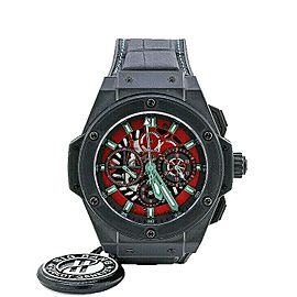 Mens' Hublot Big Bang King Power St Steel w/ Black Dial 710.CI.0130.GR.MEX10