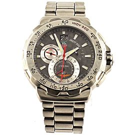 TAG HEUER FORMULA 1 CAH101A.BA0854 INDY 500 CHRONOGRAPH GRAY WATCH