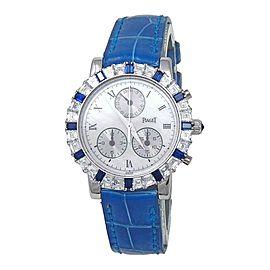 Piaget Dancer 18k White Gold Quartz Ladies Watch 14019