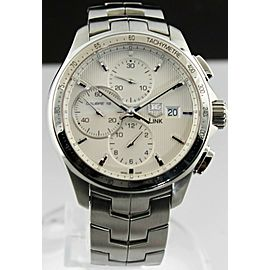 TAG HEUER LINK CAT2011.BA0952 AUTOMATIC CHRONOGRAPH MENS SILVER WATCH