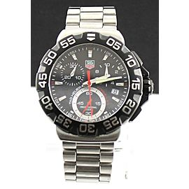 TAG HEUER FORMULA 1 CAH1110.BA0850 CHRONOGRAPH QUARTZ MENS BLACK WATCH