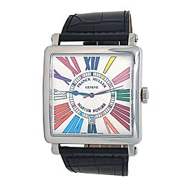 Franck Muller Master Square Color Dream 18k White Gold Automatic Watch 6000KSCDT