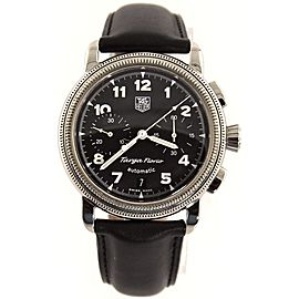 TAG HEUER TARGA FLORIO CX2110.FC6171 AUTOMATIC CHRONOGRAPH MENS BLACK WATCH