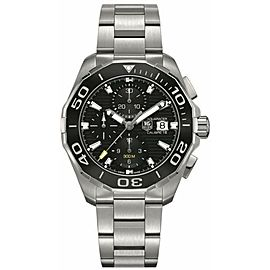 TAG HEUER AQUARACER CAY211A.BA0927 AUTOMATIC 300M CHRONOGRAPH WATCH