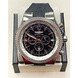 Breitling Bentley GMT A47362 Stainless Steel 49mm