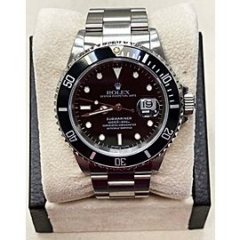 Rolex Submariner 16610 Stainless Steel Black Dial