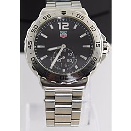 ON SALE TAG HEUER FORMULA 1 WAU1112.BA0858 GRANDE DATE QUARTZ BLACK MENS WATCH