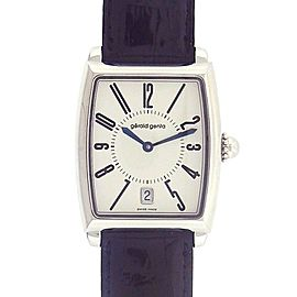 Gerald Genta Solo Date Display Stainless Steel Automatic Men's Watch SSO.M.10