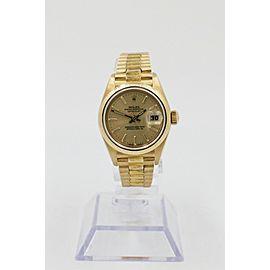 Rolex Ladies President Datejust 69278 18K Yellow Gold