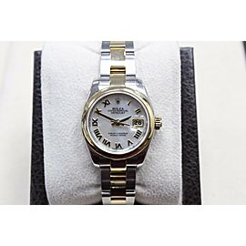 Rolex Datejust Ladies 179163 MOP Dial 18K Gold & Steel Box Papers $10050 Retail