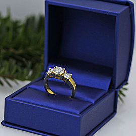 14k White Gold Engagement Ring featured with 1.62ct TCW Diamonds