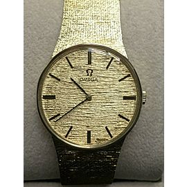 160 Vintage Omega Bracelet Watch 14K Yellow Gold DD6854
