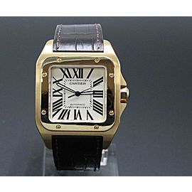 Cartier Santos 100 Large 18K Rose Gold 2792 W20095Y1
