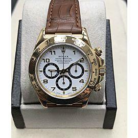 Rolex Daytona Cosmograph 16518 18K Yellow Gold Zenith Movement