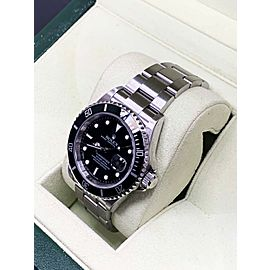 Rolex Submariner 16610 Stainless Steel Black Dial REHAUT Box & Papers 2009