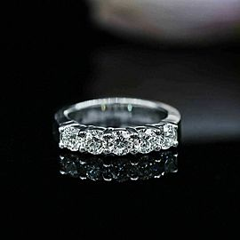 Classic Half-Way Wedding Diamond Band