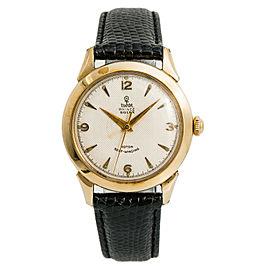 Tudor Prince Gold 34mm Watch