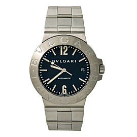 Bvlgari Diagono LCV38S Steel 38mm Watch