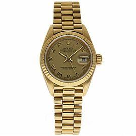 Rolex Datejust 69178 Gold 26.0mm Women Watch