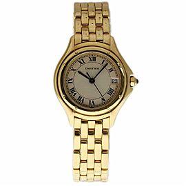 Cartier Cougar UNKNWON Gold 26.0mm Women Watch