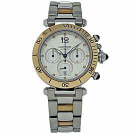 Cartier Pasha W31036T6 Steel 38.0mm Watch