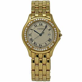 Cartier Cougar 887905 Gold 32.0mm Women Watch
