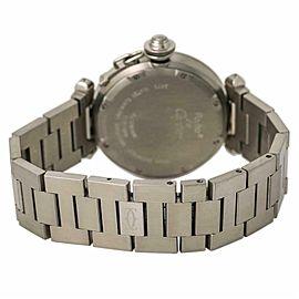 Cartier Pasha W31044M7 Steel 35.0mm Watch