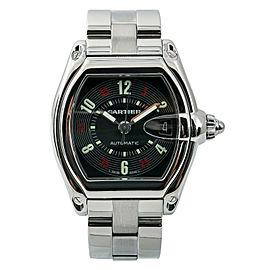 Cartier Roadster W62002V3 Steel 38mm Watch