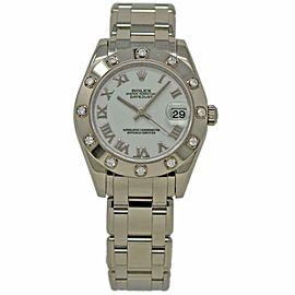 Rolex Masterpiece 81319 Gold 34.0mm Women Watch