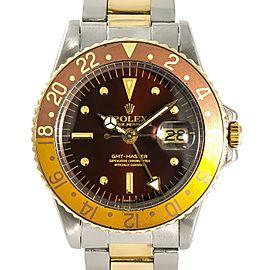 Rolex Gmt Master Ii 1675 Steel 40mm Watch