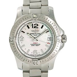 Breitling Colt A74389 Steel 36mm Women Watch