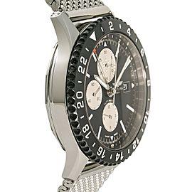 Breitling Chronoliner Y24310 Steel 46mm Watch