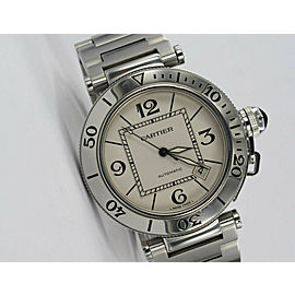 Cartier Pasha W31080M7 Steel 40mm Watch