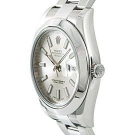 Rolex Datejust Ii 116300 Steel 41mm Watch
