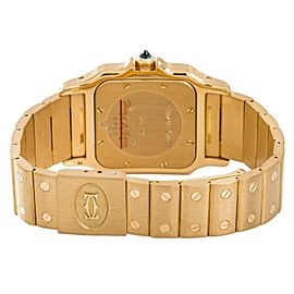 Cartier Santos Galbee 887901 Gold 29mm Watch