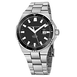 Concord Mariner Steel 43mm Watch