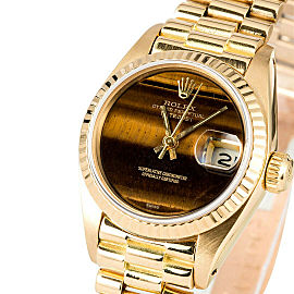 Rolex Datejust 6917 Gold 26mm Women Watch