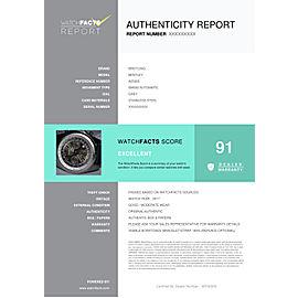 Breitling Bentley A25365 Steel Watch